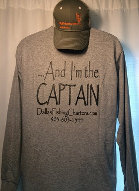 Long Sleeve Gray Back DallasFishingCharters